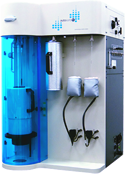 Manometric vapor sorption analyzer for water sorption isotherms