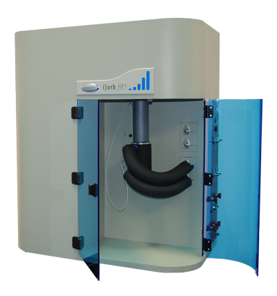 High pressure gas sorption analyzer, the iSorb HP