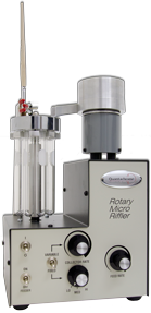 Rotary rifflers provide representataive powder samples.
